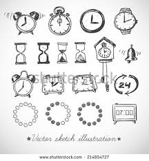 clock sketch stock images royalty free images u0026 vectors