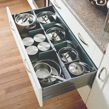 Kitchen Drawer Inserts Love To Be Organised Why Not Add A Pan Drawer Organiser To Your