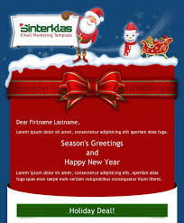 christmas greeting email template 2017 best template examples
