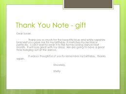 birthday thank you notes thank you notes reasons to write a thank you note to show