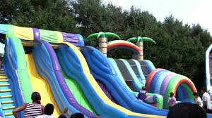 long island water slides best water slides in long island youtube