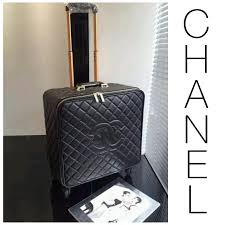 travel chanel images Chanel travel luggage luxury bags wallets on carousell jpg