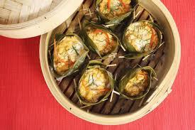 recette de cuisine poisson recette poisson en feuilles de bananier thaï chef jevto bond
