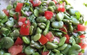 cuisiner des f钁es fraiches recette salade de fèves 750g