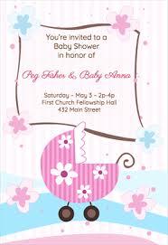 baby shower invites templates redwolfblog