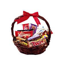 chocolate basket chocolate basket