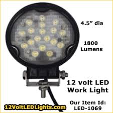 bee green led brand 12 volt truck work light boat deck light