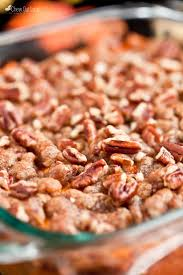 the chew com recipes thanksgiving sweet potato casserole with pecan crumble chew out loud