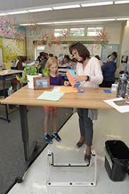 Standing Desks For Students Take A Stand California Teachers Association