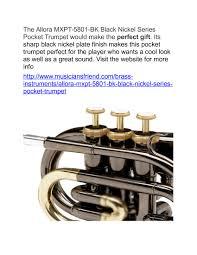 bk promo code halloween horror nights allora mxpt 5801 bk black nickel series pocket trumpet pocket