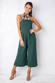 green jumpsuit lotus jumpsuit green stelly