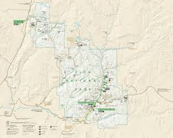 Escalante Utah Map by 12 Best Zion National Park Maps Images On Pinterest Hiking