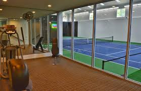 Utah House That Has An Indoor Tennis Court Interior Design Ideas