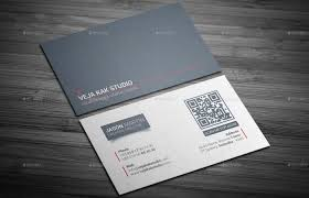 sleek minimal business card by vejakakstudio graphicriver