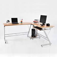 Corner Workstation Computer Desk by Home Office L Shaped Computer Desk Olive Crown Com