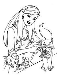 barbie coloring pages girls choose
