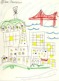 Map Of San Francisco Neighborhoods by Visualizing Mental Maps Of San Francisco