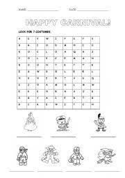 english teaching worksheets carnival carnaval pinterest