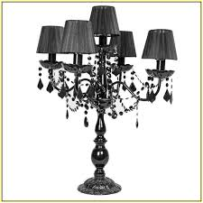 Crystal Chandelier Table Lamp Nice Black Chandelier Lamp Chandelier Table Lamp Black Home Design