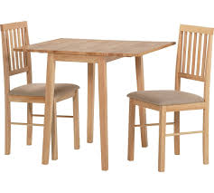 home kendall drop leaf ext dining table u0026 2 chairs natural