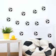 wall ideas walls need love world map wall decal urban outfitters diy 10x football wall sticker living room soccer ball kids boys playroom baby nursery decal stickers