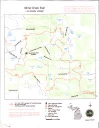Michigan Orv Trail Maps by Silver Creek Trail Team Riders