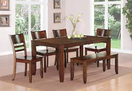 Dining Room Table Set With Bench Bench Inspiration Dining Room Tables With Bench Seating