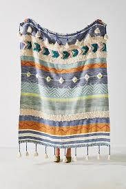 Woven Throw Rugs Woven Darrah Throw Blanket Anthropologie