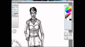 quick fashion concept sketching youtube