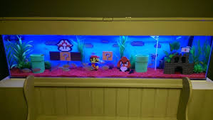 custom mario lego aquarium decoration ornaments at aquarist