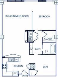 How To Draw Sliding Doors In Floor Plan Studio 1 U0026 2 Bedroom Apartments In Charlotte Nc Camden Cotton