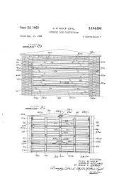 Overhead Door Ri by Patent Us3104699 Overhead Door Construction Google Patents