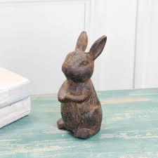 woodland rabbit desk friend ornament by dibor notonthehighstreet