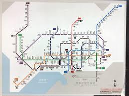 Hong Kong Metro Map by Urbanrail Net U003e Asia U003e China U003e Shenzhen Subway