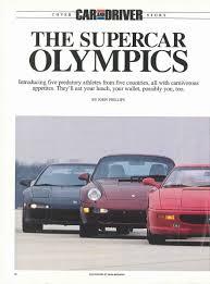 lexus lfa vs nsx dodge porsche cars history