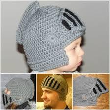 crochet pattern knight helmet free crochet knight helmet pattern and hat best ideas helmets knight