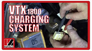 how to test a motorcycle charging system honda vtx 1800