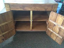 ash wood red madison door kitchen island made from pallets
