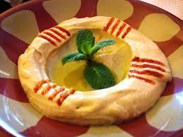 cuisine libanaise houmous recette houmous purée de pois chiches à la crème de sésame