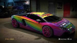 Lamborghini Aventador Features - rainbow lamborghini car pictures