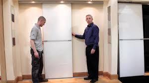 Installing Sliding Mirror Closet Doors by Backyards Door Design For Home Bifold Closet Repair Installation