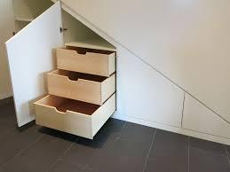einbauschrank unter treppe einbauschrank unter der treppe gefertigt nach maß in unserer