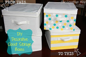 diy decorative closet storage boxes the lovebugs