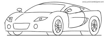 car drawing tutorial sports cars 3 4 front junior car