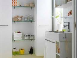 Glass Bathroom Shelves Glass Shelves For Bathroom Home Design Ideas