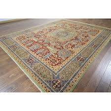 Outlet Area Rugs Manhattan H9496 Mamluk Knotted Area Rug