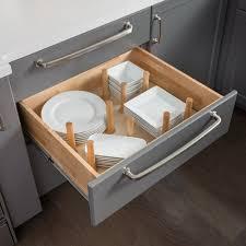 kitchen cabinet drawer peg organizer peg board insert drawer organizer