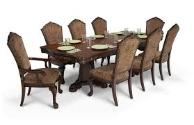Dining Room Suite Majestic 9 Piece Dining Set Bob U0027s Discount Furniture