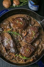 mushroom gravy its not easy filet mignon in mushroom wine sauce natashaskitchen com
