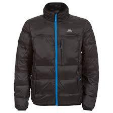 trespass bismarck mens padded jacket casual warm winter coat ebay